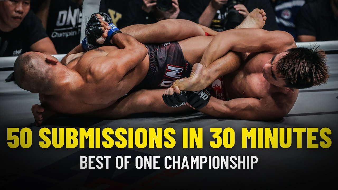 ONE Championship: 50 Submissions In 30 Minutes