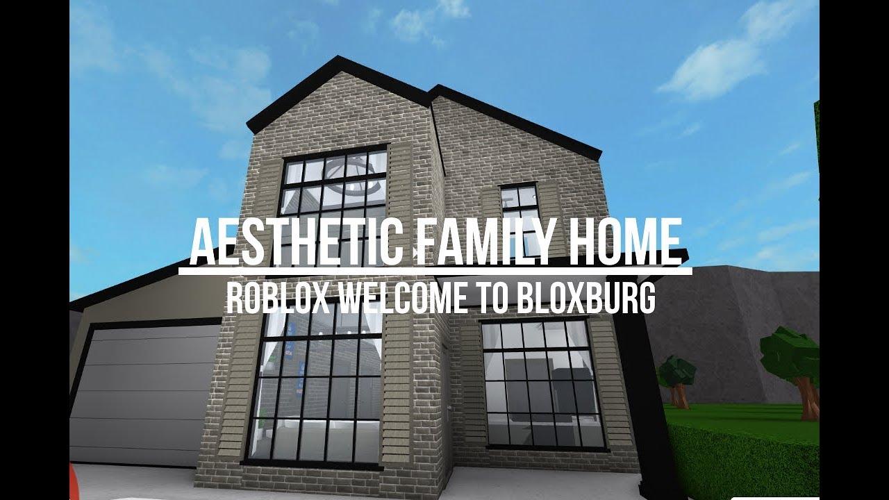 Roblox Welcome To Bloxburg Aesthetic Family Home Doovi