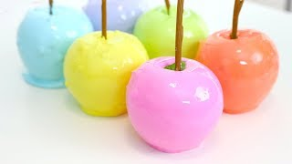 How to Make Rainbow Candy Apples | RECIPE