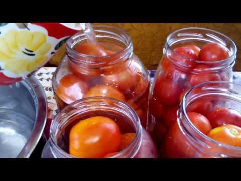 Как засолить помидоры в томатной пасте