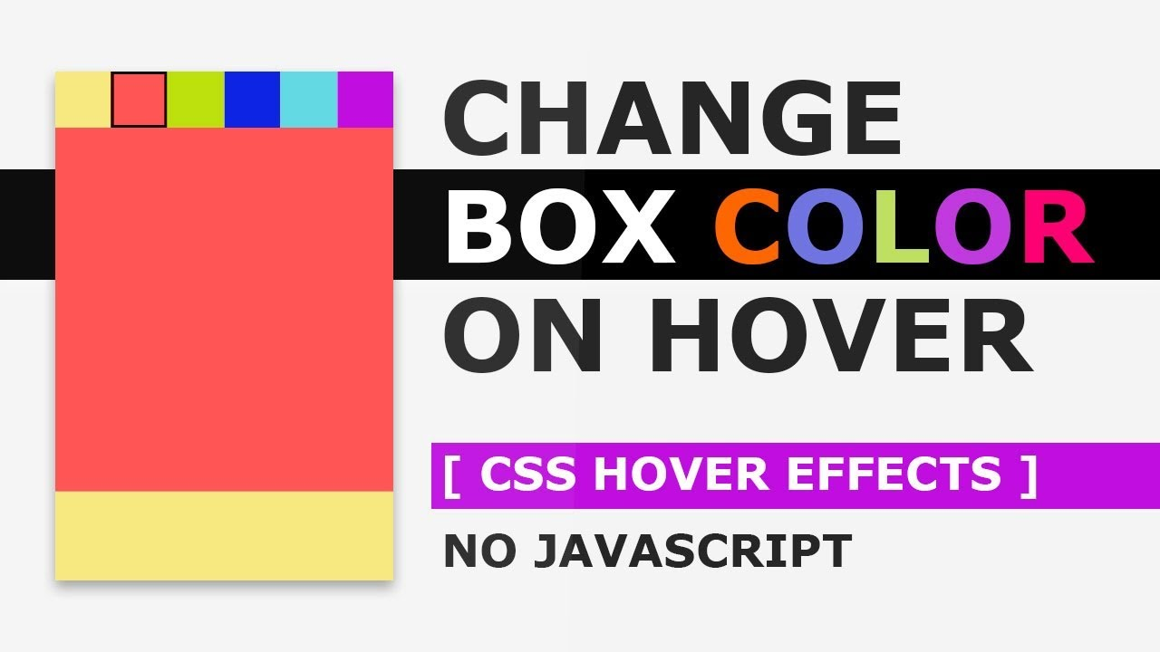 Css3 Draw Border Animation On Hover Creating A Border Animation Effect With Html And Css Youtube
