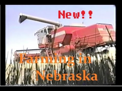 Farming in Nebraska with Commentary!