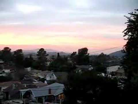 Eagle Rock sunset