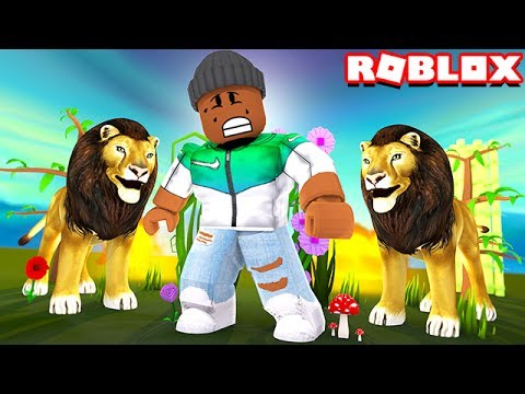 ESCAPE THE ZOO IN ROBLOX