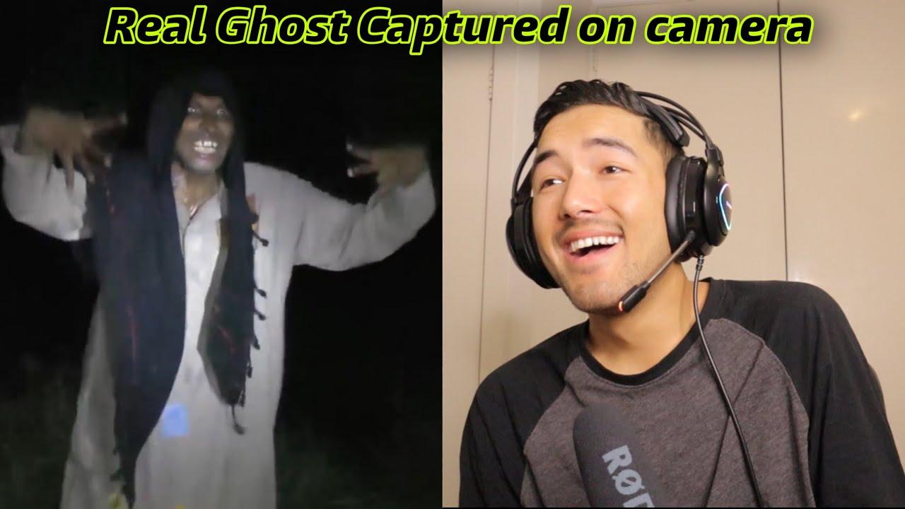 Real Ghost Dealing with Man   Reaction Video   Sandip Karki