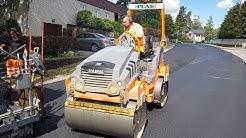 SWEDEN - MODERN ROAD Asphalt Construction PEAB + VÖGELE SUPER  - resurfacing asphalt!