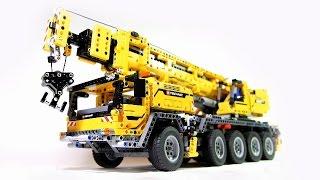 Hướng dẫn lắp ghép LEGO - Siêu xe cẩu hạng nặng - đồ chơi xếp hình
