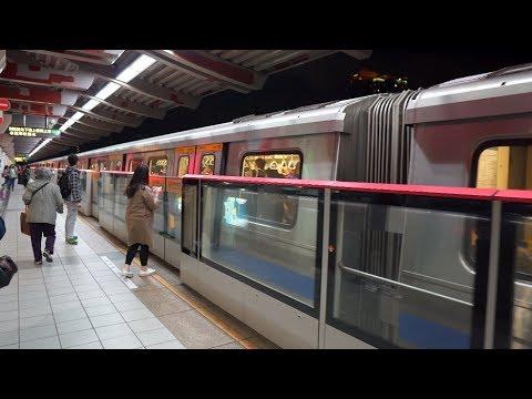 Taiwan, Taipei, MRT ride from SHILIN to ZHISHAN