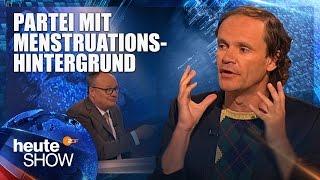 Olaf Schubert analysiert die Lage der Grünen | heute-show vom 24.02.2017