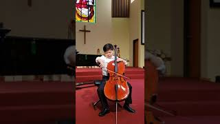 Prelude from Bach's First Suite and Tchaikovsky's nocturne