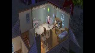 Sims 2 first time potty!!