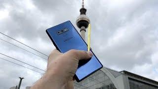 Samsung Galaxy Note 9: Unser Erfahrungsbericht nach 24h in Berlin