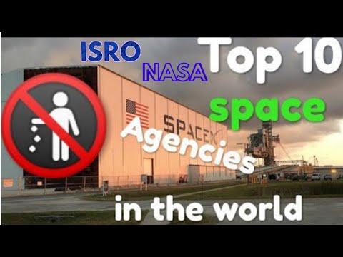 Top 10 Space Agencies 2018 - 2019  | Eclectic |
