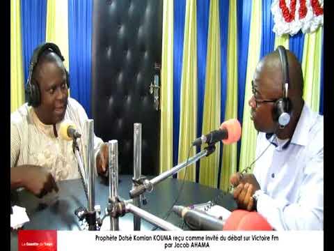 Jacob AHAMA reçoit comme invité du débat le prophète Dotsè Komlan KOUMA alias « Pépé »