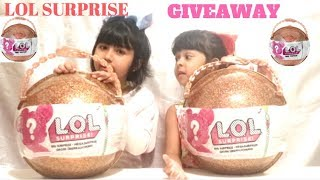 LOL BIG SURPRISE BALL GIVEAWAY