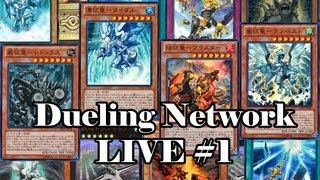 Yu-Gi-Oh! Dueling Network Live #1 - Pilot - The elemental dragons still tearing things up!