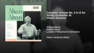 Concerto Grosso No. 2 in G for String Orchestra: III. Vivace Giocoso