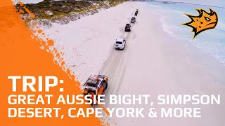 Visiting the Great Australian Bight, Simpson Desert & Cape York | MAXTRAX Trips