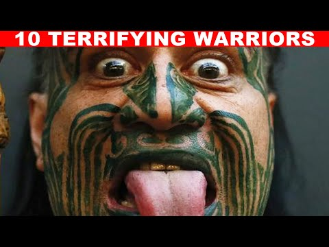 10 Ancient Warriors That Will Scare You Senseless