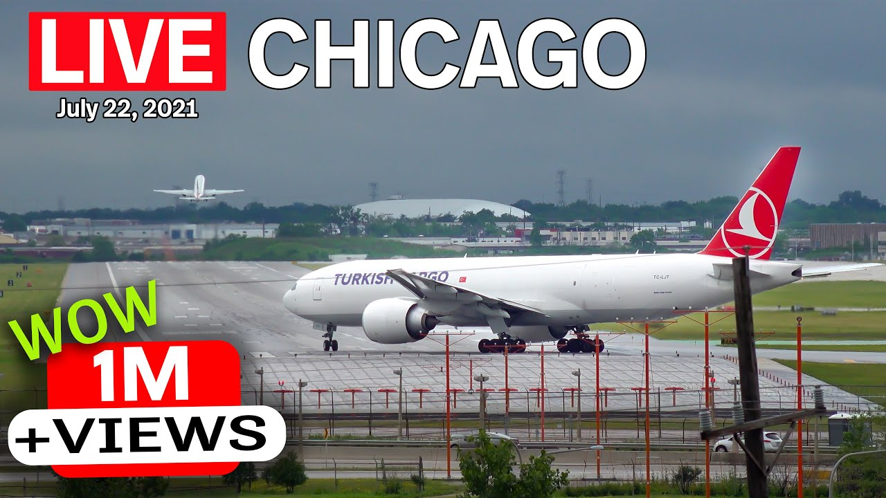 Download 🔴 LIVE from the other side of O'Hare (ORD). ATC included! (7/22/21)