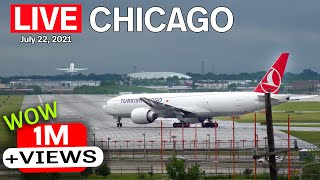 🔴 LIVE from the other side of O'Hare (ORD). ATC included! (7/22/21)