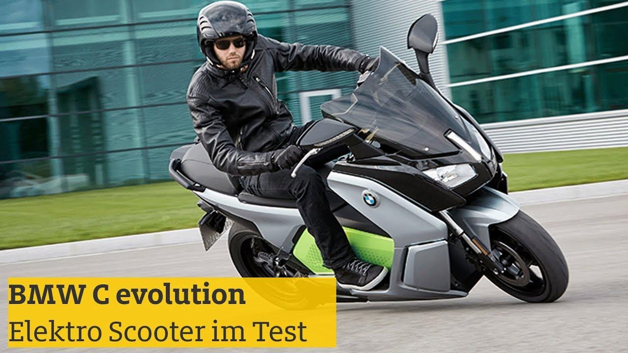 bmw c evolution elektro scooter testfahrt daten adac 2018 youtube. Black Bedroom Furniture Sets. Home Design Ideas