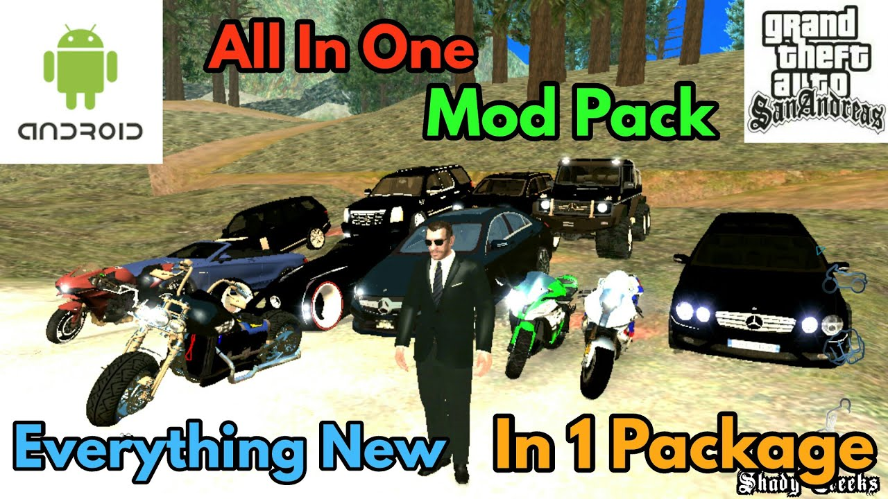 GTA San Andreas Best All In One Mod Package For Android | New Cleo Scripts | Alpha Technology