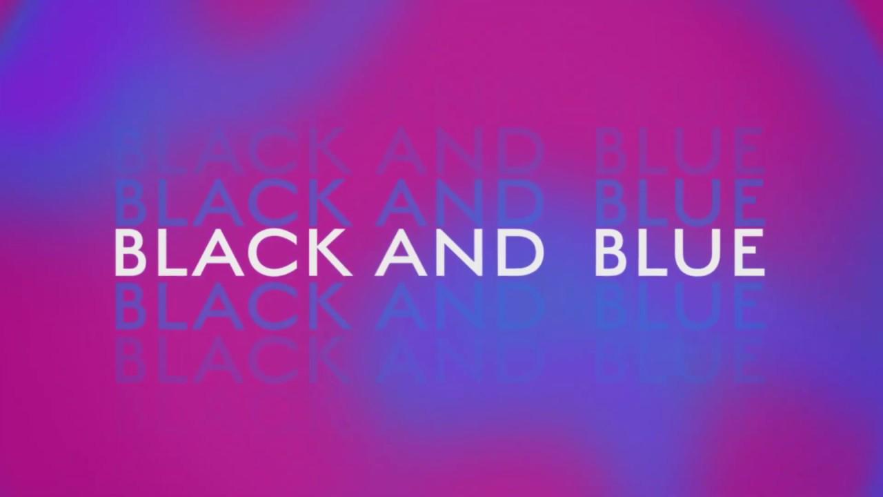 Nina Nesbitt – Black & Blue (Lyric Video)