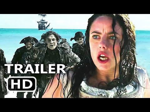PIRATES OF THE CARIBBEAN 5 - Salazar's Ghosts Army Official Clip (2017) Disney Movie HD