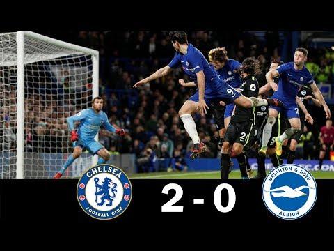 Chelsea vs Brighton 2-0 FULL HD Picture Highlights - 26th Dec 2017