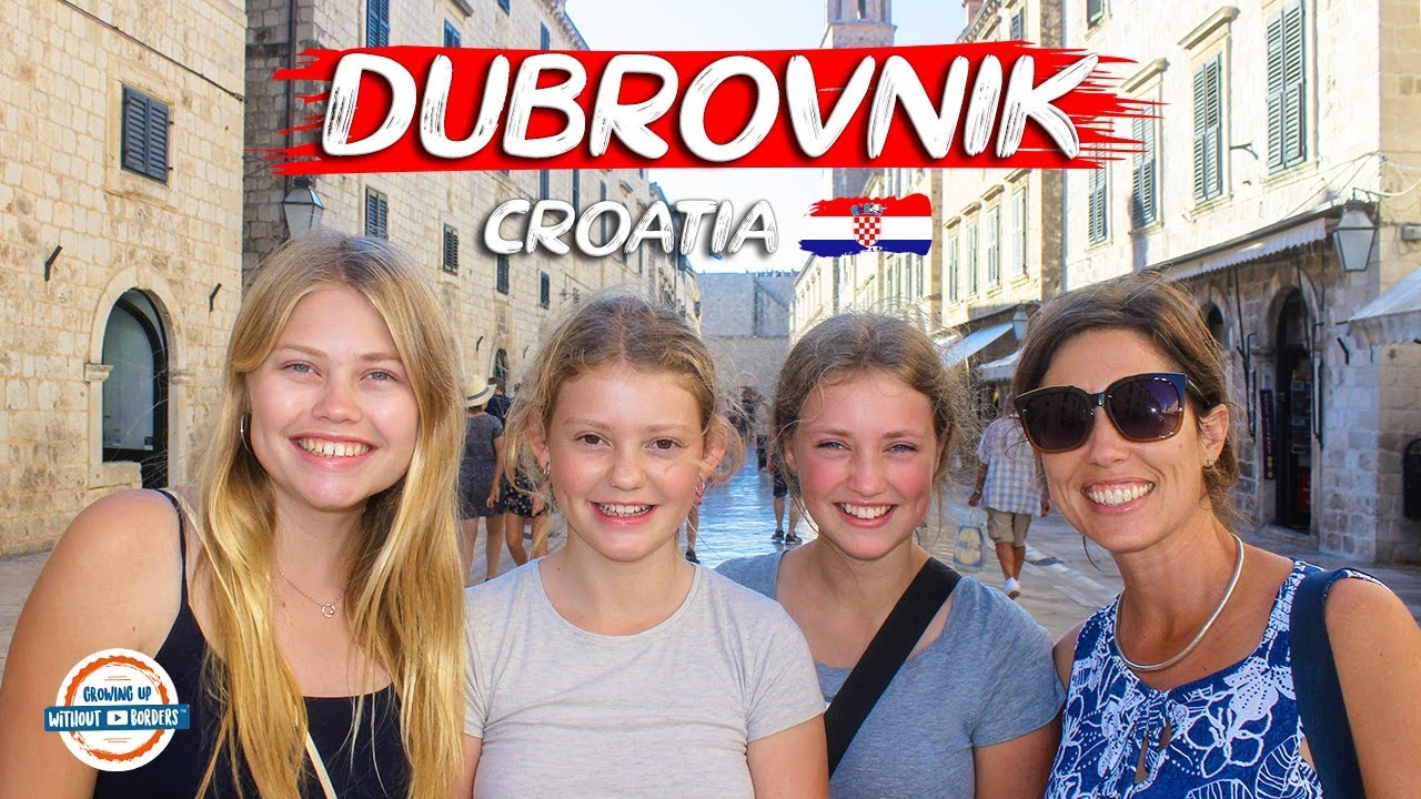 Why Visit Dubrovnik Croatia? Discover the Pearl of the Adriatic Sea | 98+ Countries with 3 Kids