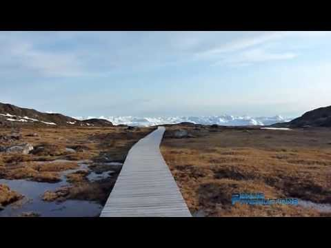 Greenland Ilulissat icefjord by foot - Groenlandse Ilulissat ijsfjord wandeling
