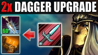 Double Upgrade for Stifling Dagger [1000 Attack Damage] Dota 2 Ability Draft