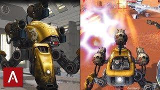 War Robots Gameplay: Fujin with Gold Skin Epic Battle