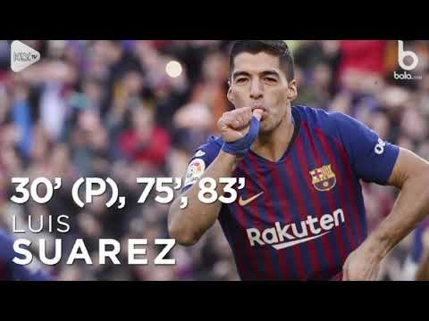 Barcelona Bungkam Real Madrid 5 1   Spanyol