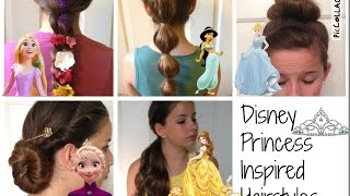 Disney Princess Inspired Hairstyles Thumbnail