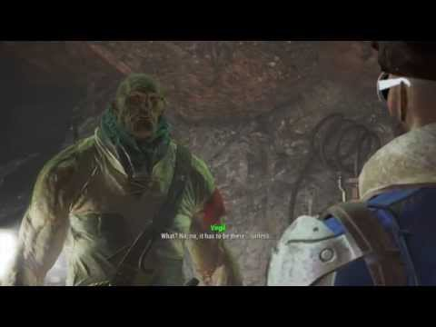 Fallout 4 - Not giving Virgil the Serum - Telling him to die
