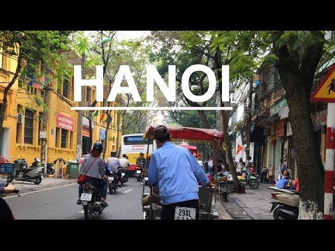 VIETNAM Travel / HANOI City Tour / Rickshaw Ride