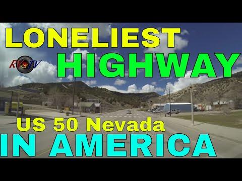 """US Hwy 50 Nevada..""""Loneliest Highway In America""""...Ely...Austin...Eureka Nevada...RVerTV"""