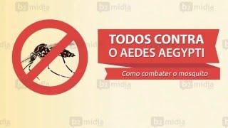 Animação | Cuidados que temos que ter contra o Mosquito AEDES AEGYPTI