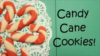 How To Make Candy Cane Cookies!