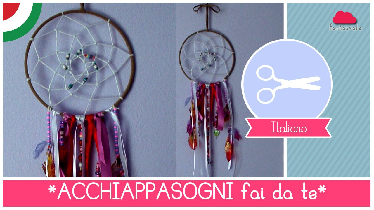 Famoso Tutorial come fare un Acchiappasogni - Dreamcatcher DIY by  ZL69
