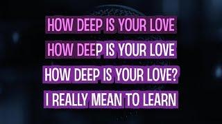 How Deep Is Your Love (Karaoke Version) - Lea Michele   TracksPlanet