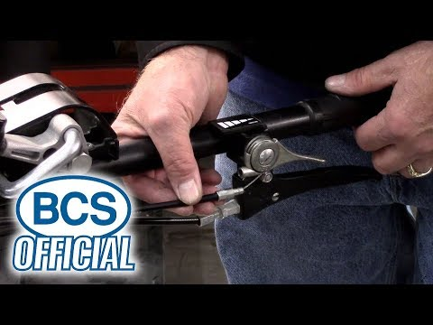 Adjusting the Throttle Cable on a BCS Tractor