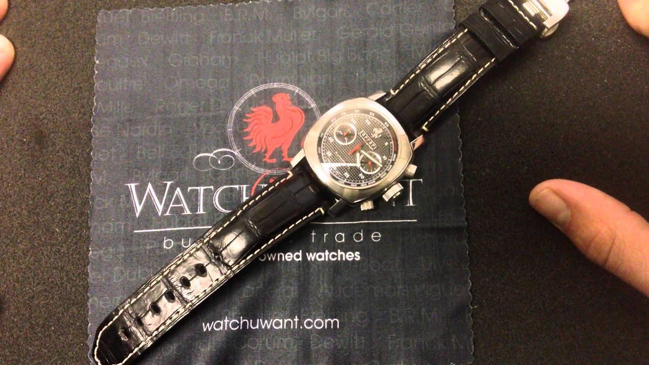 f59d78f3b60 Panerai Ferrari Granturismo Chronograph FER00018 Luxury Watch Review ...