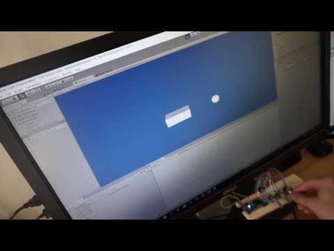 Unity3D components controlled via mbed on Serial Port