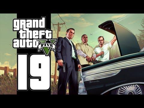 Let's Play GTA V (GTA 5) - EP19 - Dead Man Walking