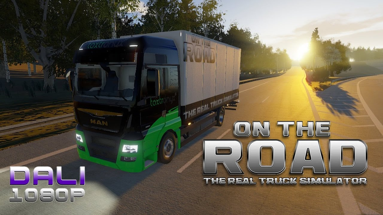 on the road truck simulator steam early access youtube. Black Bedroom Furniture Sets. Home Design Ideas