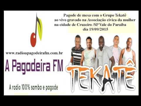 Grupo Tekatê ao vivo pagode de mesa - Radio A Pagodeira FM