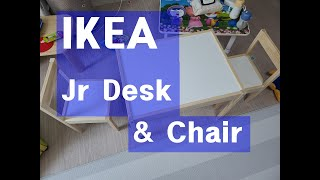 IKEA Jr Desk and Chair  이케아 어린…
